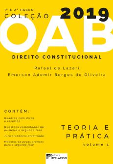 Imagem - Coleção OAB 2019- Direito Constitucional : Teoria e prática -Volume 1