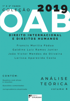 Imagem - Coleção OAB 2019- Direito Internacional e Direitos Humanos - Teoria e prática -Volume 8 - 9788560519170