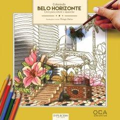 Imagem - Colorindo Belo Horizonte – Livro para colorir e aquarelar