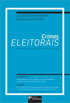 Imagem - CRIMES ELEITORAIS (2020) - 4ª edição ampliada, atualizada e revista
