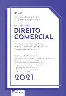 Imagem - Curso de Direito Comercial 8ª edição 2021