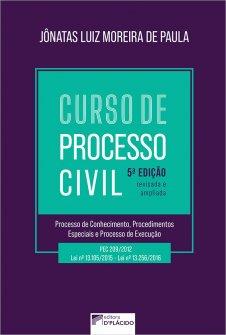 Imagem - Curso de Processo Civil - Processo de Conhecimento, Procedimentos Especiais e Processo de Execução 5ª edição 2021 - 9786555891362