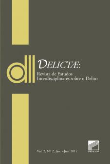 Imagem - DELICTAE: Revista de Estudos Interdisciplinares sobre o Delito -Vol 2 Nº 2.