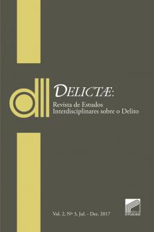 Imagem - DELICTAE: Revista de Estudos Interdisciplinares sobre o Delito - Vol 2  Nº 3.