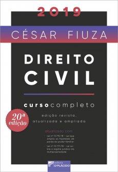 Imagem - Direito Civil: Curso Completo - 20ª Edição 2019