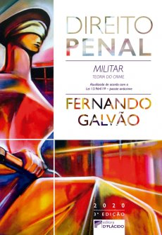 Imagem - Direito Penal Militar: teoria do crime 3ª Edição - 9788584258772