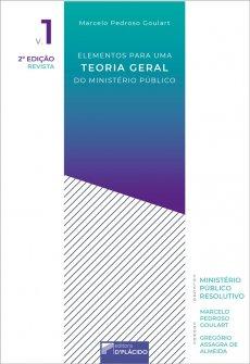 Imagem - Elementos para uma Teoria Geral do Ministério Público -Volume 1 - 9786580444670