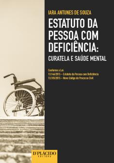 Imagem - Estatuto da pessoa com deficiência curatela e saúde mental - 9788584254408