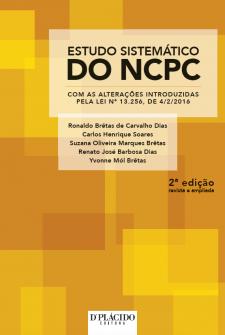 Imagem - Estudo sistemático do NCPC: com as alterações introduzidas pela lei nº 13.256, de 4/2/2016