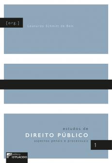 Imagem - Estudos de Direito Público: aspectos penais e processuais - Volume 1 - 9788584259069