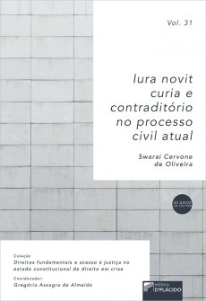 Imagem - Iura novit curia e contraditório no Código de Processo Civil  - 9786555890556