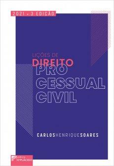 Imagem - Lições de direito processual civil 3ª edição 2021