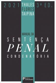 Imagem - Manual da Sentença Penal Condenatória - 3ª Edição