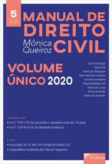 Imagem - Manual de Direito Civil - Volume único 5ª Edição
