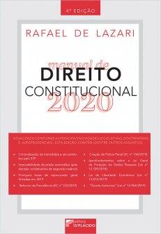 Imagem - Manual de direito constitucional 2020 - 4ª Edição