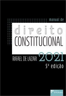 Imagem - Manual de direito constitucional 5ª edição 2021