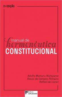 Imagem - Manual de Hermenêutica Constitucional