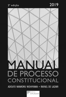 Imagem - Manual de processo constitucional - 2ª Edição- 2019