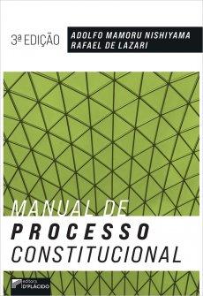 Imagem - Manual de Processo Constitucional - 3ª Edição 2020