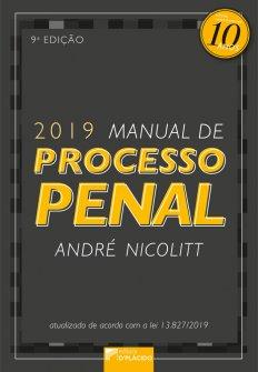 Imagem - Manual de Processo Penal - 9º Edição