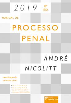 Imagem - Manual de processo penal 8ª Edição - 2019