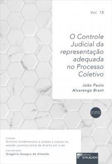 Imagem - O controle judicial da representação adequada no processo coletivo VOLUME 18 - 9786580444335