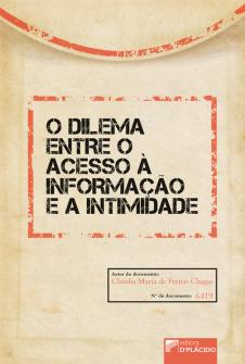 Imagem - O dilema entre o acesso à informação e a intimidade