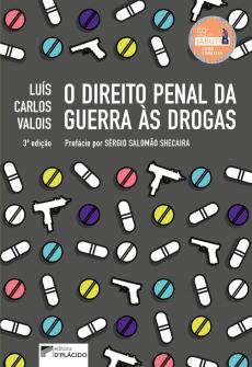 Imagem - O Direito penal da guerra às drogas 3º ed - 9788584253760