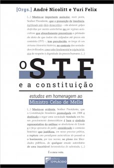 Imagem - O STF e a Constituição: Estudos em homenagem ao Ministro Celso de Mello