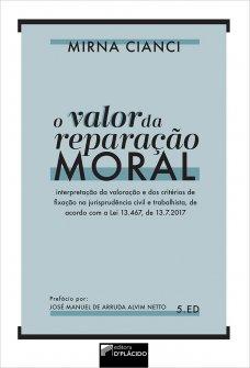 Imagem - O valor da reparação moral - 9786555891089