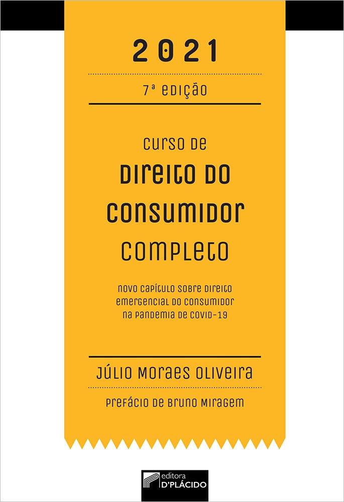 Curso de Direito do Consumidor Completo 7ª edição 2021