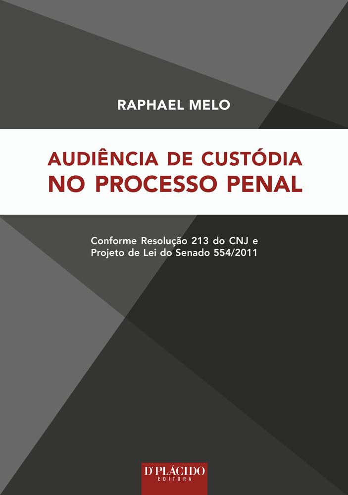 Audiência de custódia no processo penal
