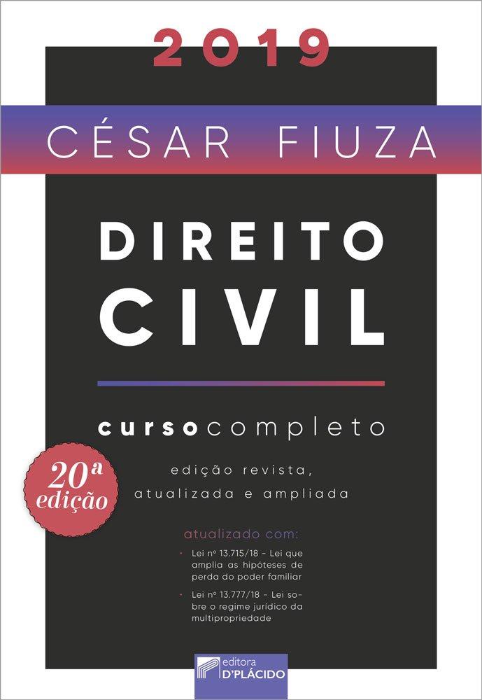 Direito Civil: Curso Completo - 20ª Edição 2019