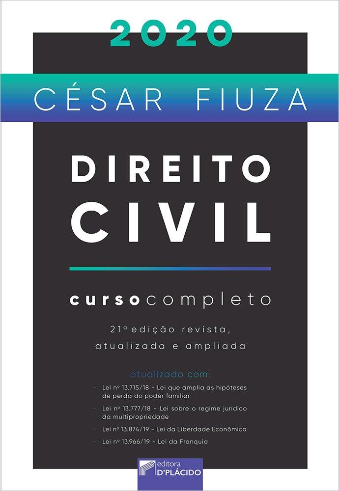 Direito civil: curso completo - 21ª Edição