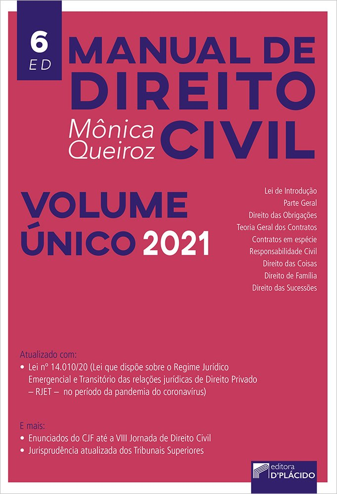 Manual de Direito Civil 6ª edição 2021