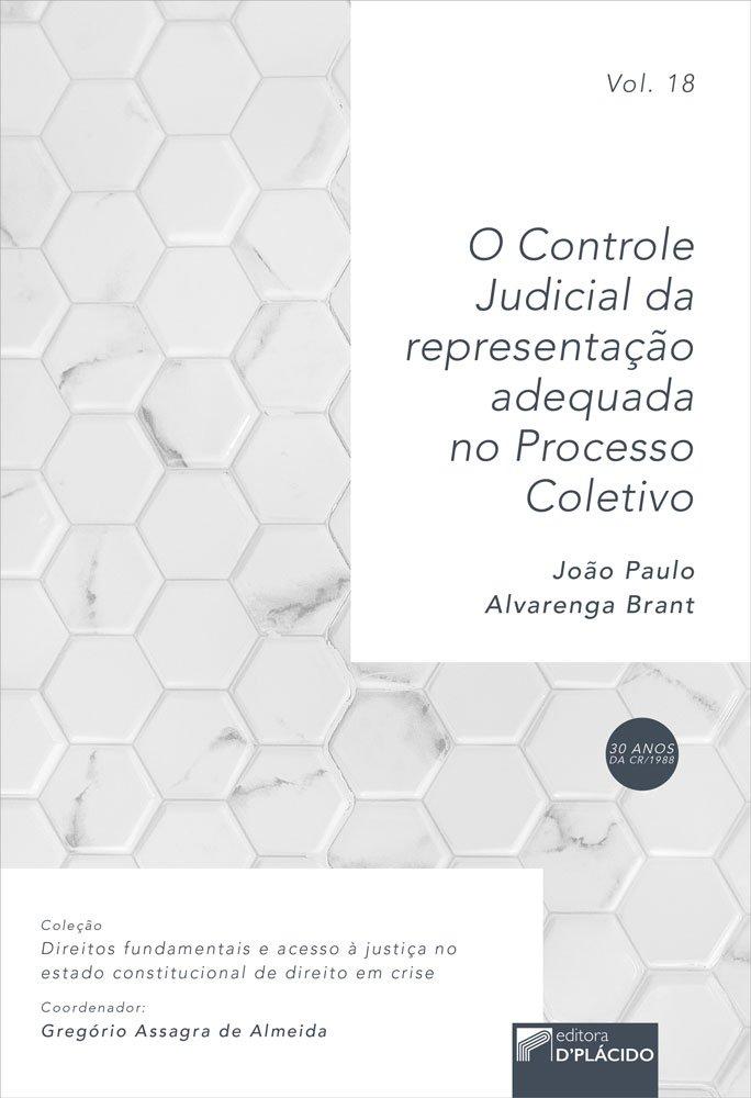 O controle judicial da representação adequada no processo coletivo VOLUME 18