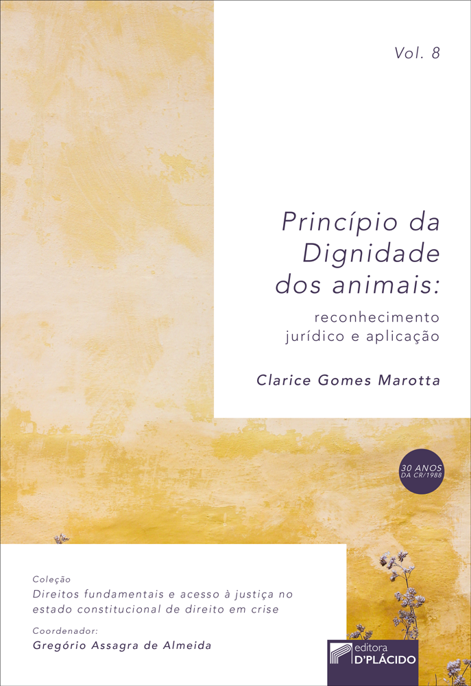 Princípio da dignidade dos animais: reconhecimento jurídico e aplicação - VOLUME 8
