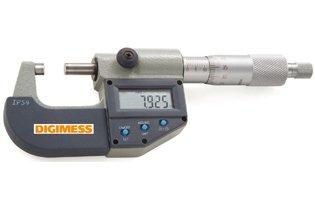 Micrômetro Externo Digital IP54 - 175-200mm - Leit. 0,001mm - Digimess