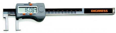Paquímetro Digital Interno (Pontas Tipo Lâmina) - 25-200mm - Leit. 0,01mm - Digimess