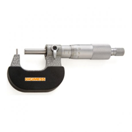 Micrômetro Externo Digital para Tubos (Ponta Cilíndrica) - 25-50mm - Leit. 0,001mm - Digimess