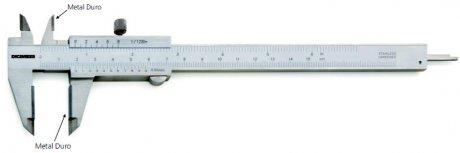 Paquímetro Universal (Metal Duro) - 150mm - Leit. 0,05mm - Digimess
