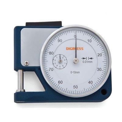 Medidor de Espessura (Arco 15mm) - 0-10mm - 0,01mm - Digimess