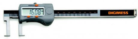 Paquímetro Digital Interno (Pontas Tipo Lâmina) - 40-200mm - Leit. 0,01mm - Digimess