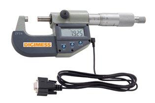Jogo de Micrômetros Externos Digitais IP54 (4 peças) - 0-100mm - Leit. 0,001mm - Digimess