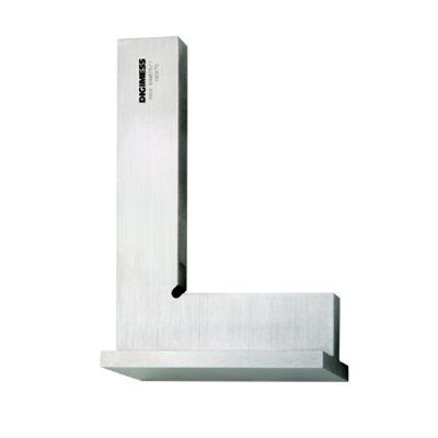 Esquadro de Precisão com Base - Classe 0 - 100 x 70mm - Digimess