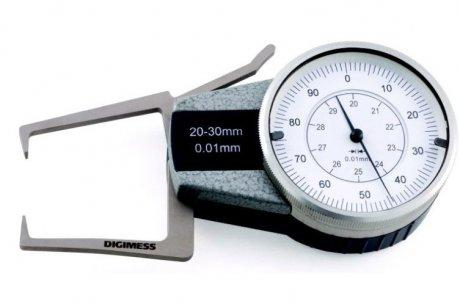 Medidor Externo com Relógio - 0-10mm - Leit. 0,01mm - Digimess