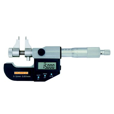 Micrômetro Interno Digital Tipo Paquímetro - 125-150mm - Leit. 0,001mm - Digimess