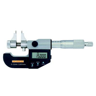 Micrômetro Interno Digital Tipo Paquímetro - 100-125mm - Leit. 0,001mm - Digimess