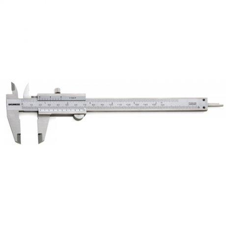 Paquímetro Universal Quadrimensional Com Guia de Titânio - 200mm - Leit. 0,05mm - Digimess