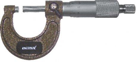 Micrômetro Externo com Catraca - 25-50mm - Leit. 0,01mm - Kingtools